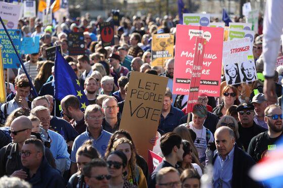 Thousands Demand Second Brexit Vote atLondon March