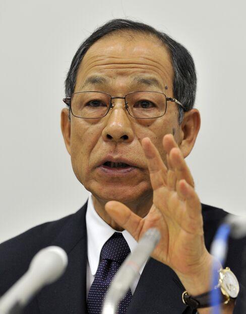 Former Olympus Corp. Chairman Tsuyoshi Kikukawa