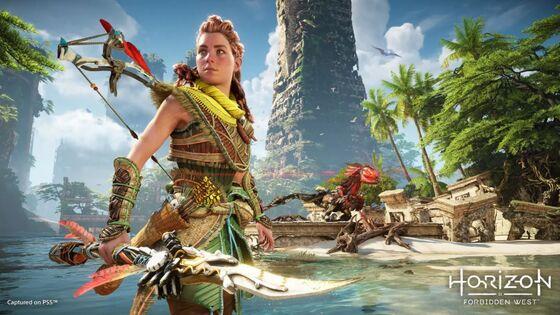 PlayStation Video Game Horizon Forbidden West Delayed To 2022