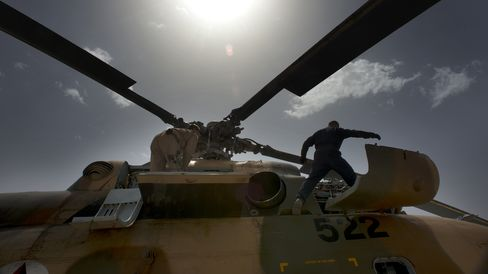 Mi-17 Helicopter in Afghanistan