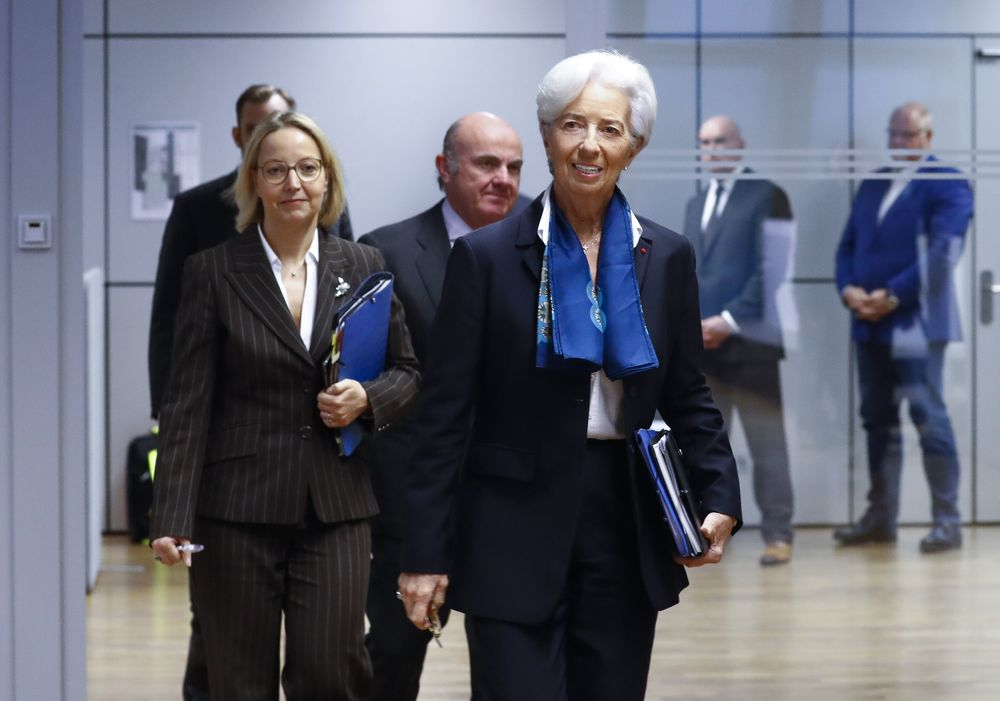 Lagarde Started ECB Tenure Amid Calls for Policy Vigilance - Bloomberg