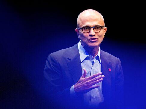 Satya Nadella, chief executive officer of Microsoft Corp.