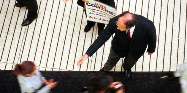 Corzine Steps Down