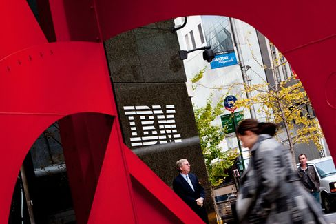 IBM Makes More Money, Selling Less of What People Want