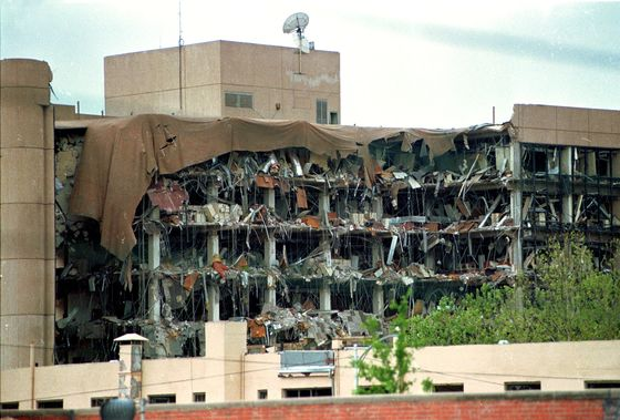 Garland Warns of Domestic Terror at Oklahoma City Bombing Memorial