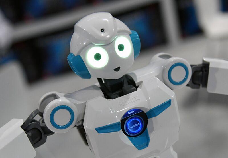 don t blame robots for president trump bloomberg