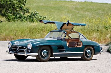 Will This Pair of Mercedes Benz 300SLs Set a Sale Record