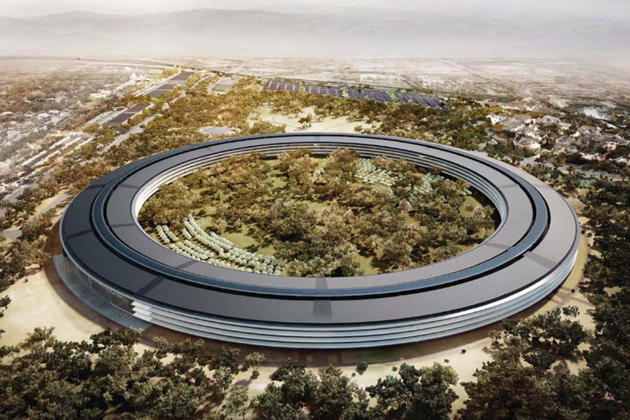 the proposed new apple campus would have 28 million square feet of office space and sit on 175 acres in cupertino calif photograph by city of cupertino apple new office