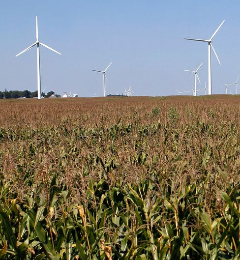 Romney's Aversion to Wind Subsidy Alienating Midwest Republicans