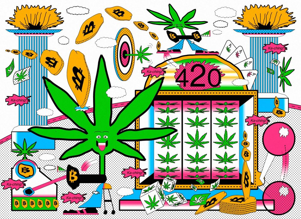 01303358db3d Crypto and Cannabis Are the Perfect Post-Crisis Bubbles - Bloomberg