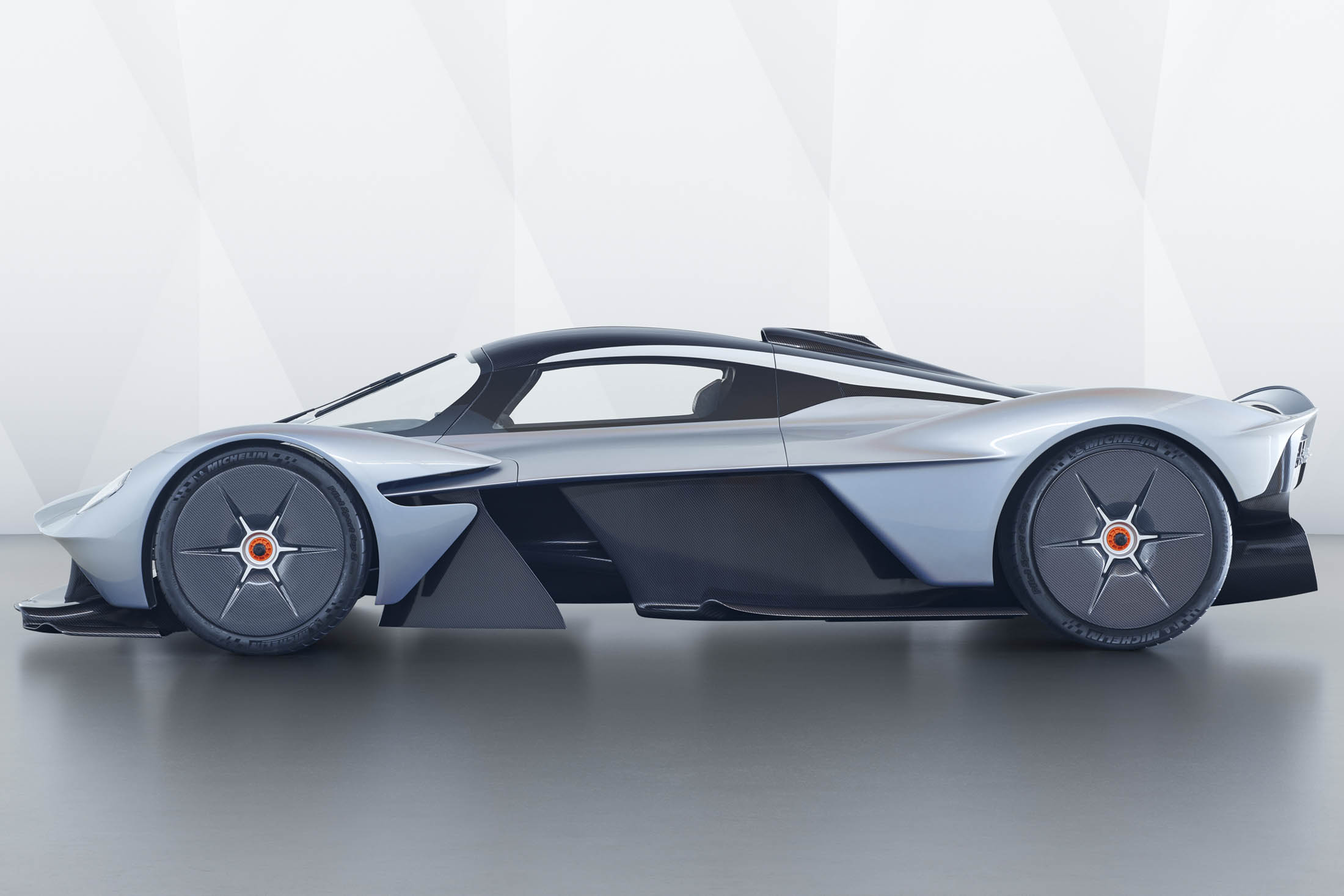 getting fitted for the $2.6 million aston martin valkyrie hypercar