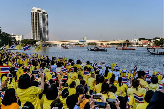 Thai King Caps His Coronation Year With a River Extravaganza