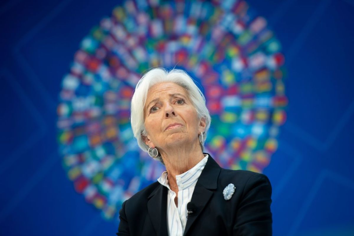 Christine Lagarde Has a Troubling Ambition