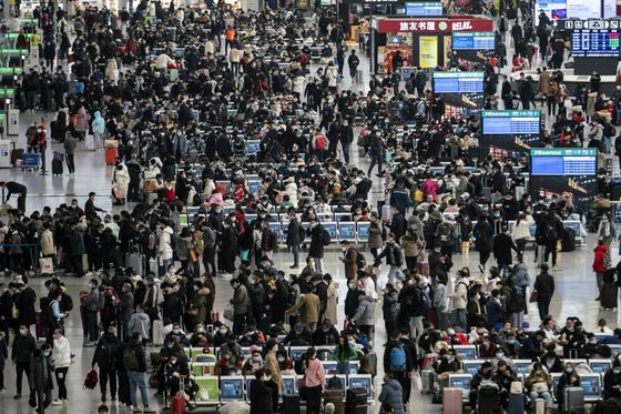 China's Oil Demand at Risk as Millions Scrap New Year Travel