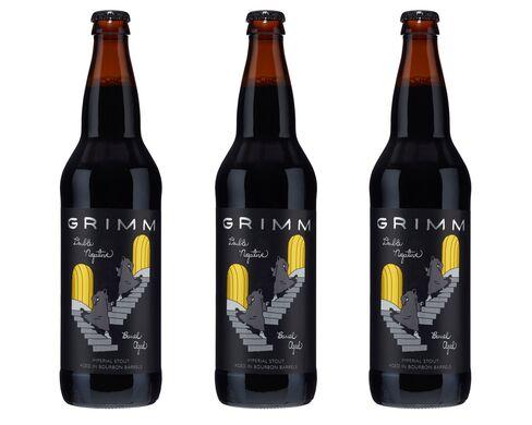Grimm Artisanal Ales' (Brooklyn, N.Y.) Barrel-Aged Double Negative.