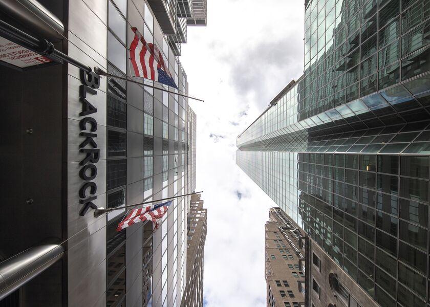 BlackRock Headquarters Ahead Of Earnings Figures