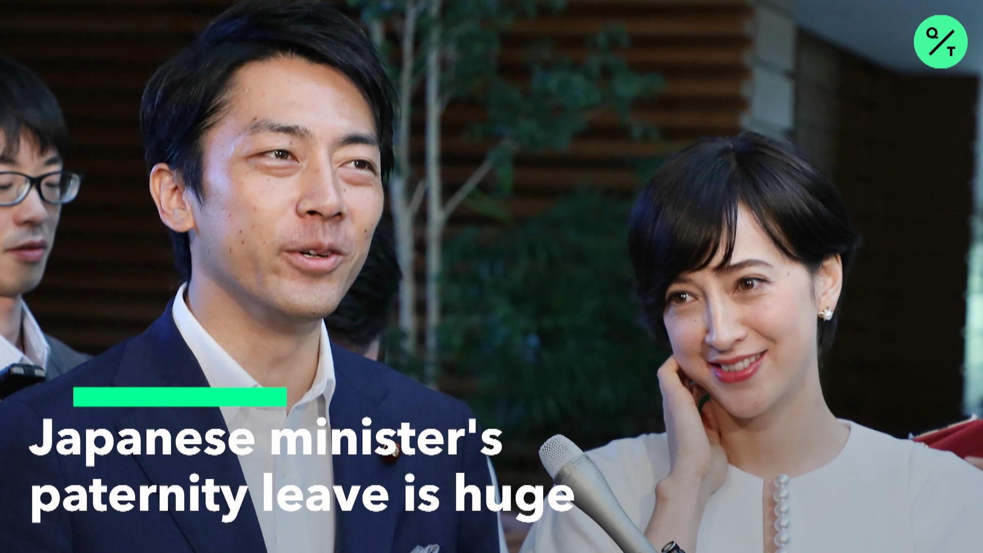 Japan Minister's Paternity Leave is Huge