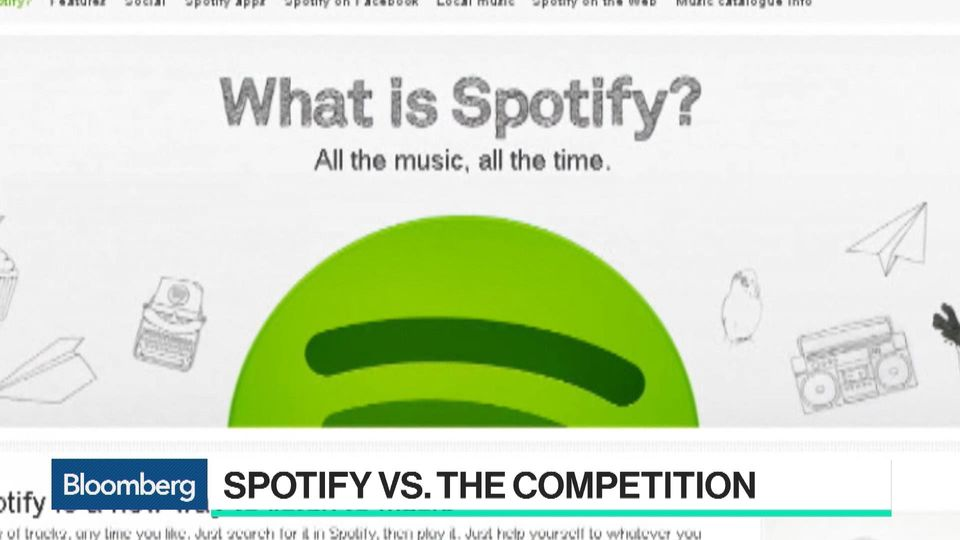 Spotify To List Stock April 3 Projecting Path To Profit Bloomberg