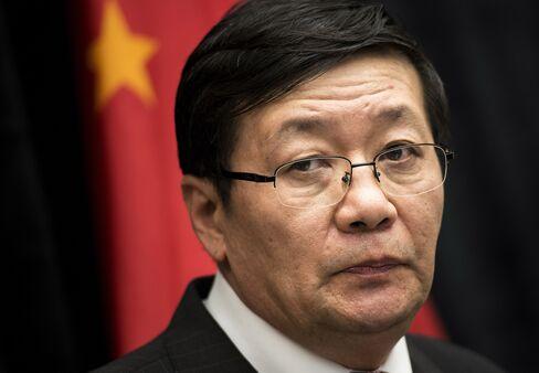 Chinese Finance Minister Lou Jiwei