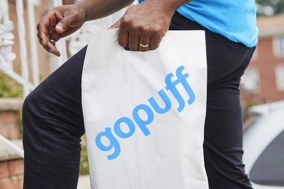 Delivery Startup Gopuff to Raise Funds at $15 Billion Valuation