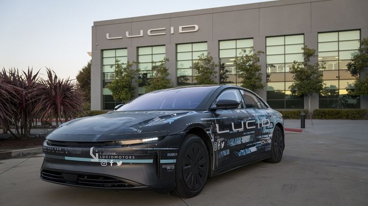 relates to Lucid Motors to Go Public Via SPAC With $24 Billion Valuation
