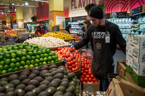 Inside A Whole Foods Market Inc. Store As Earnings Figures Are Released
