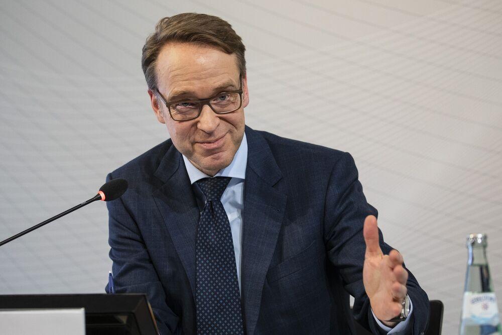 ECB's Weidmann Sticks to View Price Gains Show No Stimulus Need