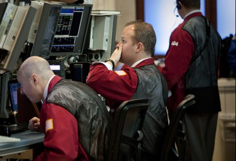 Volatility Surges in S&P 500 With Volume Lowest in Decade