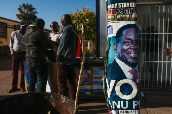 First Post-Mugabe Vote Begins With Zimbabwe Revival at Stake