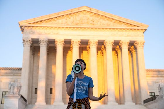 Abortion Brush-Off Contrasts With Supreme Court's Move in Church Case