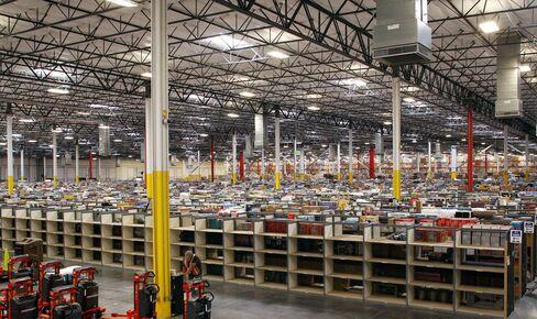 The Amazon.com Phoenix Fulfillment Center in Goodyear, Ariz.