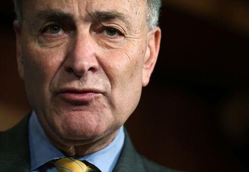 Senator Charles Schumer, a New York Democrat