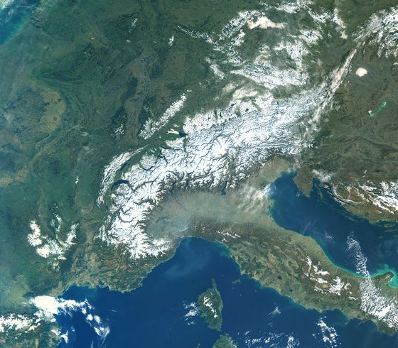 New Satellite Photos Show Climate Change Is Sweeping Europe