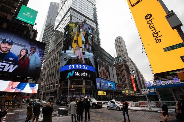 Bumble Debuts Initial Public Offering At Nasdaq MarketSite