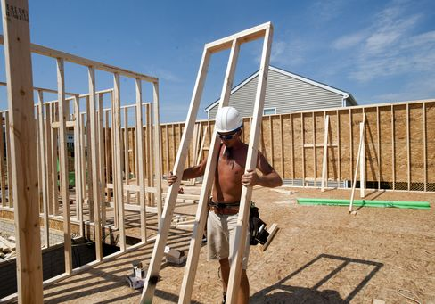 Home Construction in U.S. Probably Held Near a Four-Year High