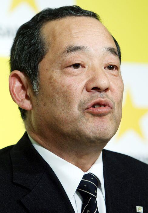 Sapporo  Holdings Ltd. incoming President Tsutomu Kamijo