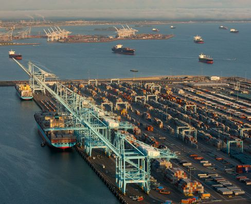 Los Angeles Port Strike Steals Christmas for Idled Truck Drivers