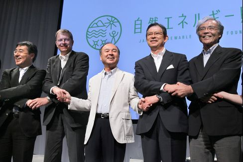 Softbank Son Pushes for Clean Energy