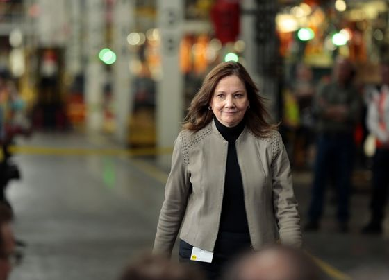 Barra Makes Case For GM to Lead the Future of Cars, But the Market Isn't Buying