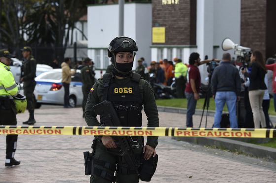 Bogota Car Bomb Kills Ten in Deadliest Attack Since Peace Deal