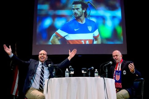 How the Men in Blazers Made It to Sportscasting's Major League