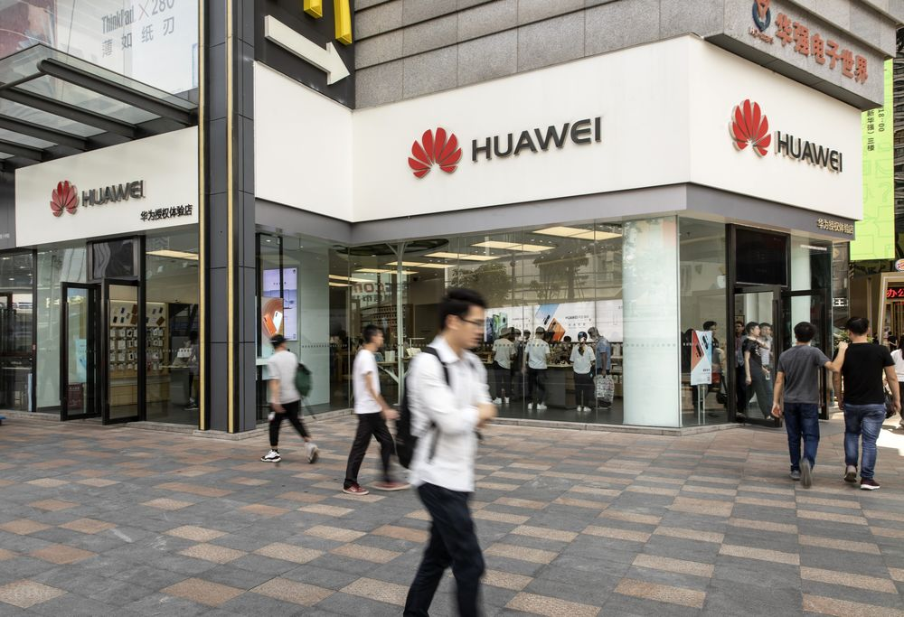Trump Linking Huawei Sanctions With Trade Defies Security Claims