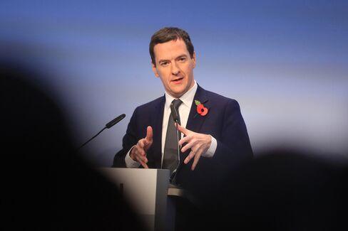 George Osborne speaks in Berlin