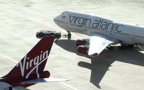 Delta Air Seen Tempted by Richest Travel Market Via Virgin Stake