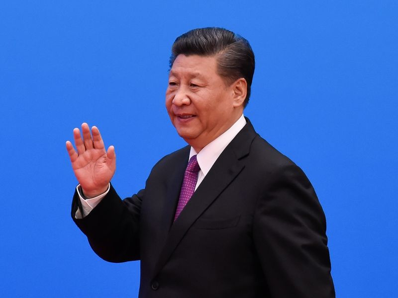 Chinese President Xi Jinping Attends A Press Conference