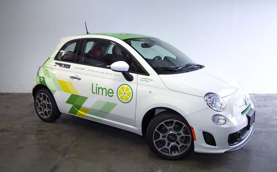 Lime Wants to Spread 1,500 Shared Cars Around Seattle