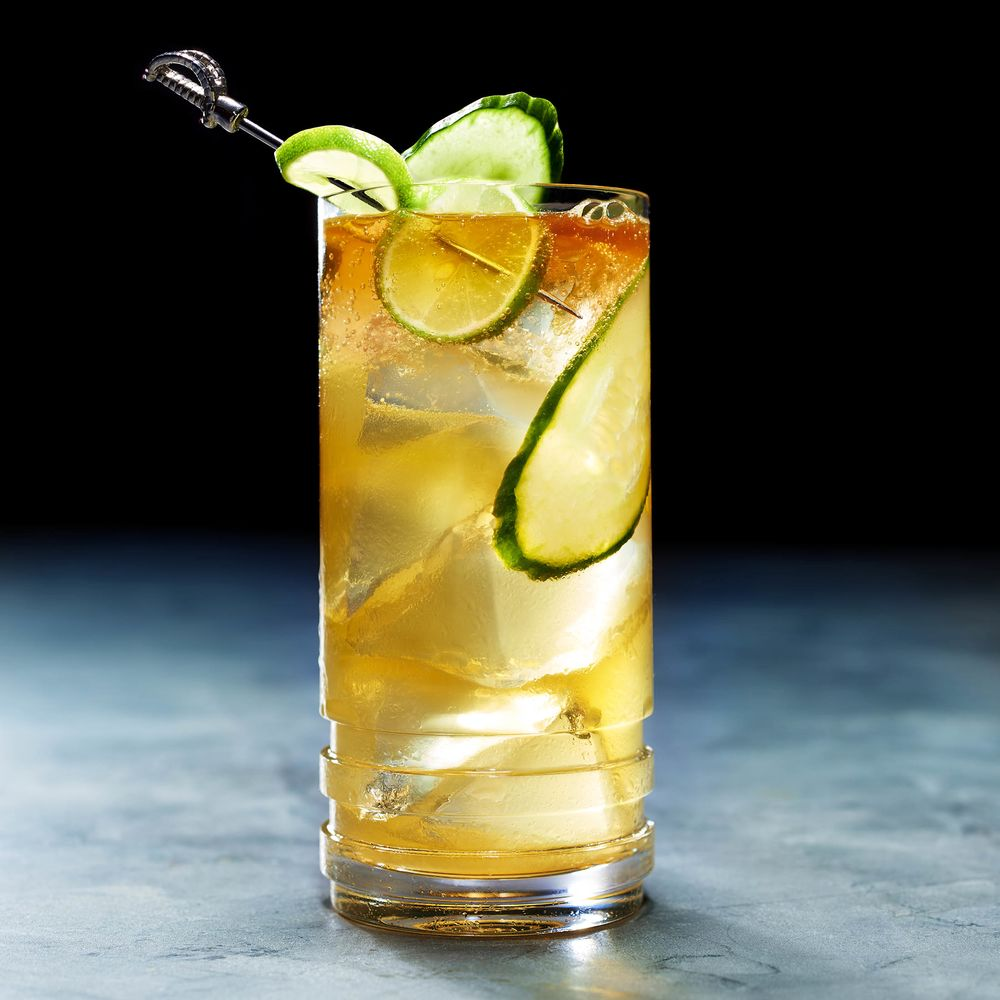Caribbean Storm Cocktail Recipe: An Amped-Up Dark 'n' Stormy