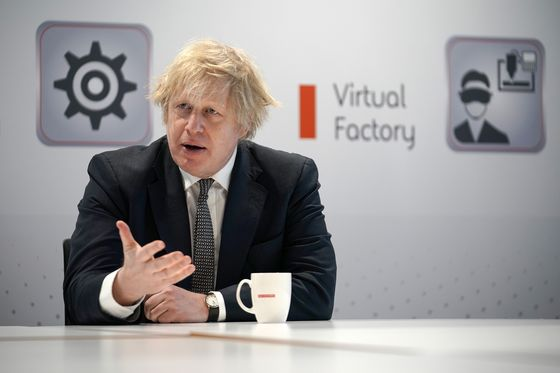 U.K.'s Johnson Says EU Doesn't Want Vaccine 'Blockades'