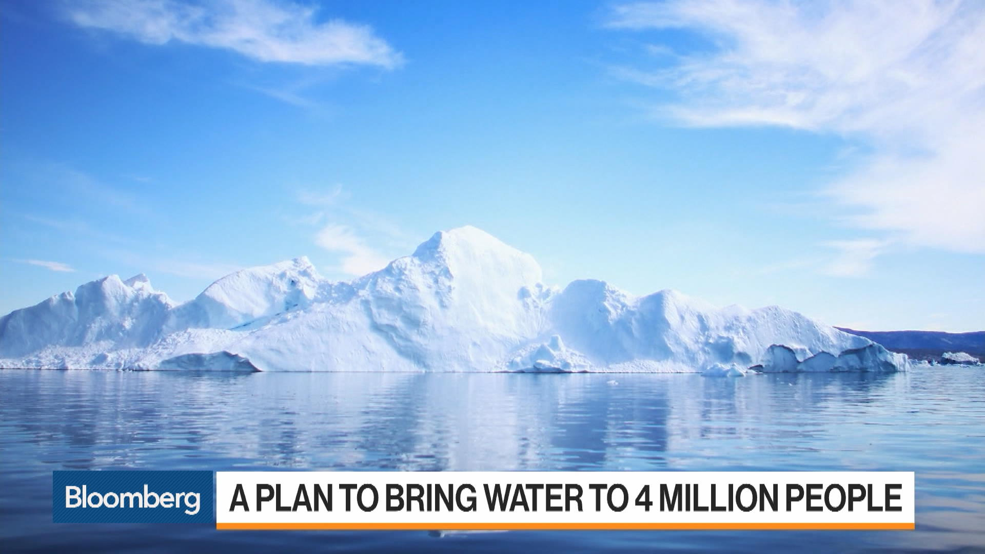 One Man's Plan to Bring Drinking Water to Millions by Towing an