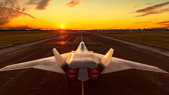 Britain's Next Fighter Jet Could Be Powered by Batteries